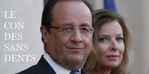 Hollande : les mots de son ex, lui valent tous les maux...