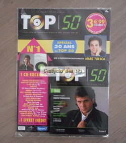 N° 1 La collection officielle Top 50 - Lancement