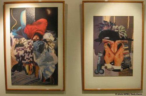 Le collage à l'honneur à Palau del Vidre