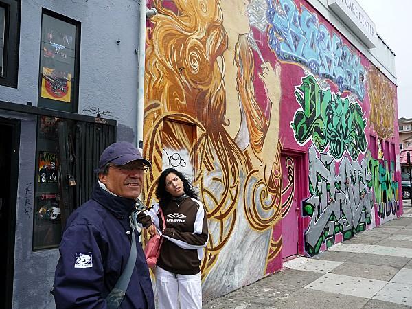 San Francisco Haight Ashbury Norbert et Charline