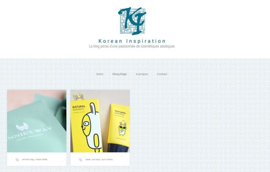 Korean Inspiration Change d'adresse : Rendez-vous sur korean-inspiration.com !