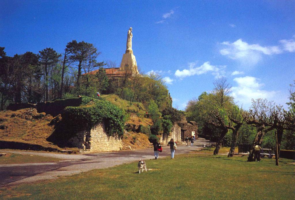 Saint Sébastien : mont Urgull