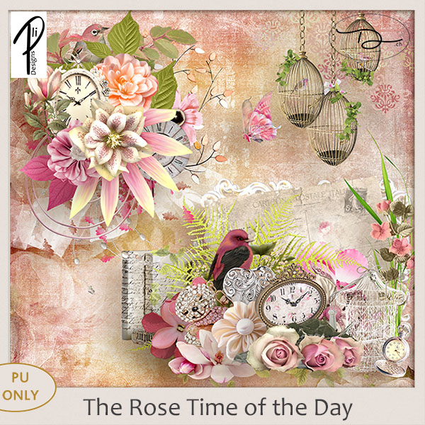 The rose time of the day (PU) PliDesigns