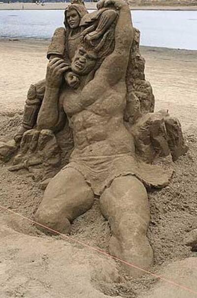 J'ai envie de châteaux de sable !