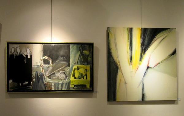 Maryvonne et Jean-Pierre Garrault exposent  à la galerie d'Art et d'Or de Châtillon sur Seine
