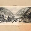 cluses le vieux pont carte 1915
