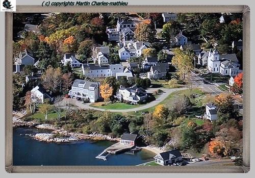 les paysages du Maine USA ( documentaire reportage -photos )