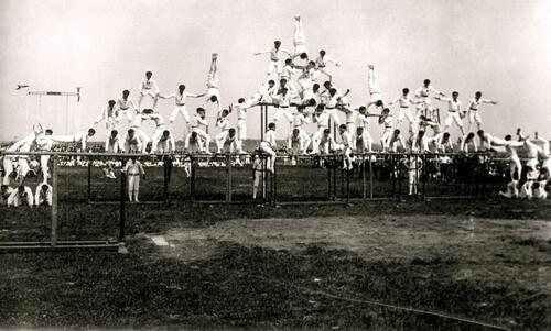 Calais : Le club de gymnastique l'Étoile fondé en 1875