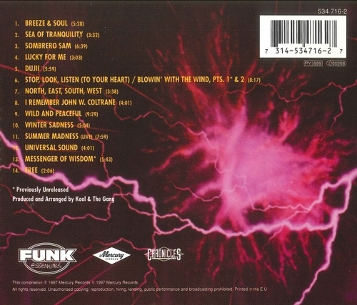 "Kool & The Gang : Album "" Kool Jazz "" De-Lite Records DEP 4001 [ US ]"