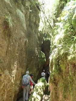 Les Canoles du Larzac depuis la Blaquièrerie.