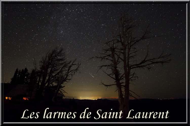 Le grand Almanach de la France : Les larmes de Saint Laurent