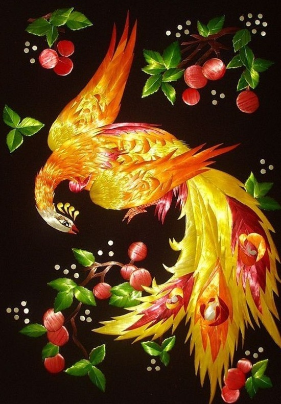 "Jewellery kaleidoscope + des bijoux inspirés du conte folklorique russe ""Firebird"""