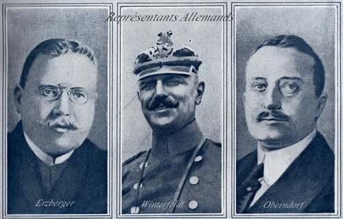 11 novembre 1918 : Armistice de la guerre 14-18