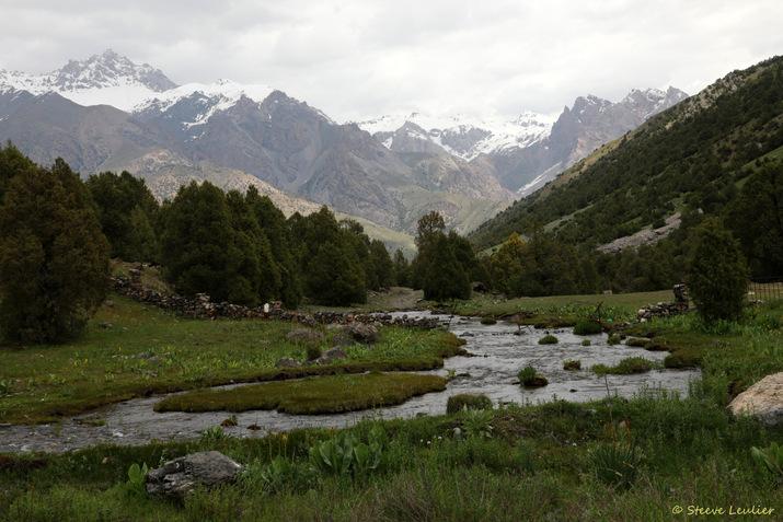 De la gorge de Sanguisafed à notre campement à proximité du lac Alaoudin, Tadjikistan