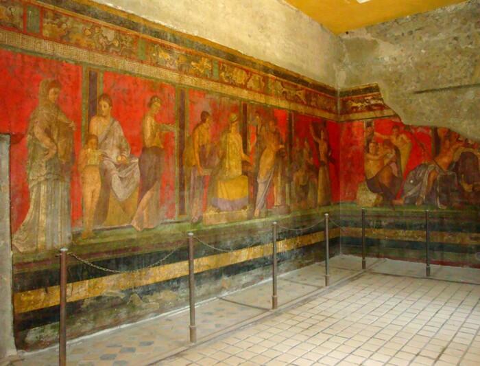 Pompei, la Villa des Mystères (1).