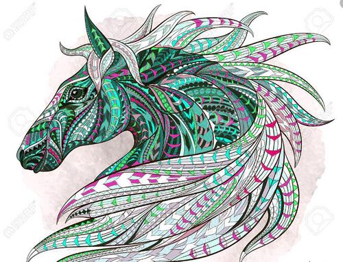 Dessin et peinture - vidéo 2025 : Comment peindre les poils à la peinture acrylique ? - tuto applicable au cheval.