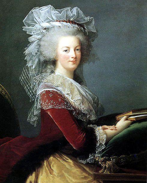 Elisabeth Vigée Lebrun, Reine Marie Anoinette - 1785  huile sur toile, collection particulière One of my favorite artists.: