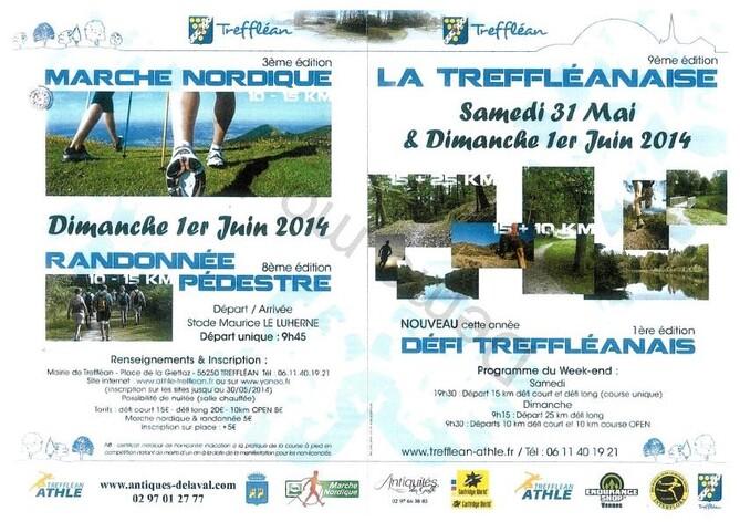 La Tréffléanaise - Samedi 31 mai & dimanche 1er juin 2014