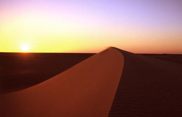 Le sable du Sahara