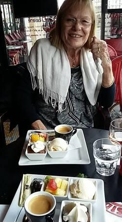 Journée dans le 10ème arrondissement avec mon amie Gisèle ...