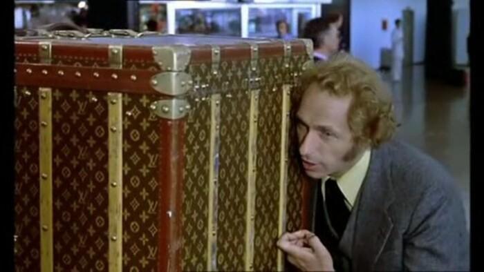 PIERRE RICHARD- MIREILLE DARC- JEAN ROCHEFORT-BERNARD BLIER - LE GRAND BLOND AVEC UNE CHAUSSURE NOIRE- 1972