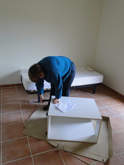 Montage des meubles
