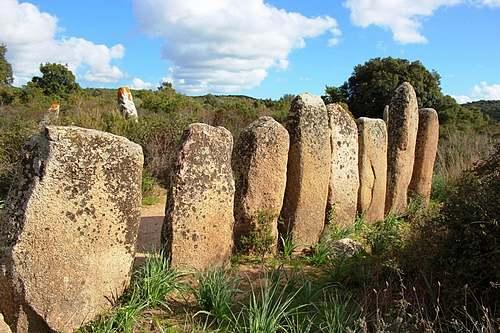 Alignements de Palaggiu (Corse)