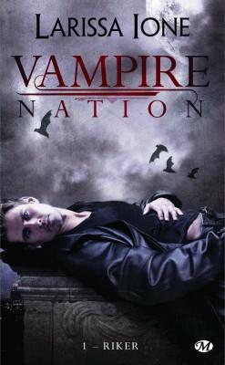 Saga Vampire Nation de Larissa Ione