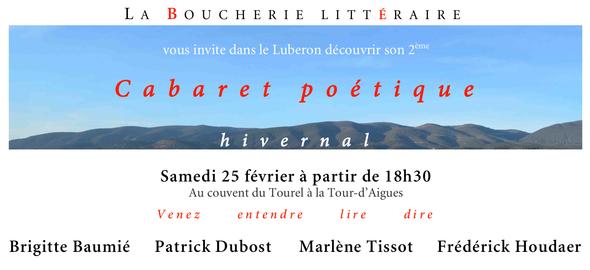 2ème Cabaret poétique hivernal