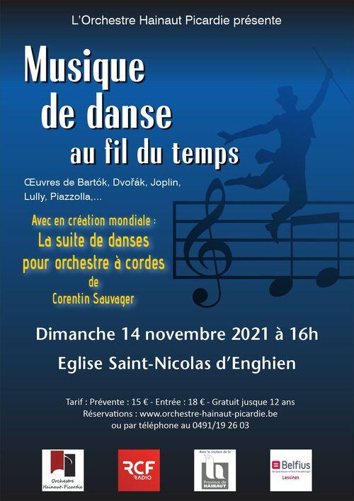 Musique de Danse au Fil du Temps 14/11/2021