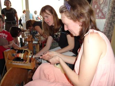 Blog de melimelodesptitsblanpain : Méli Mélo des p'tits Blanpain!, Transhumance 2013 & Expo sur le thème de la laine, à Frayssinet!