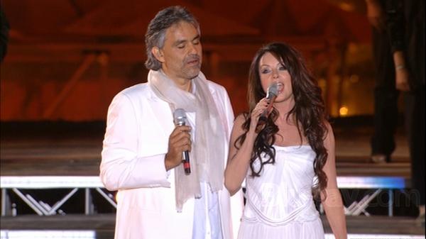 """Andrea Bocelli & Sarah Brightman """"Canto Della Terra"""" live"""