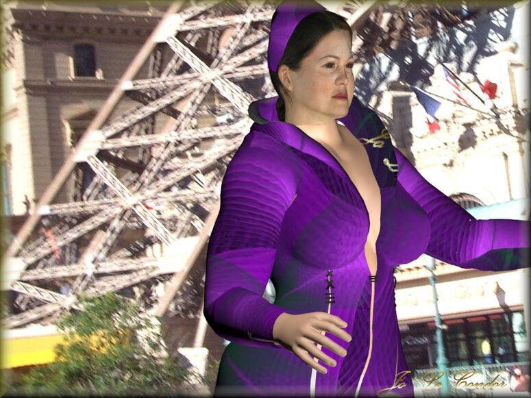 Annie à Las Vegas.....En 3d