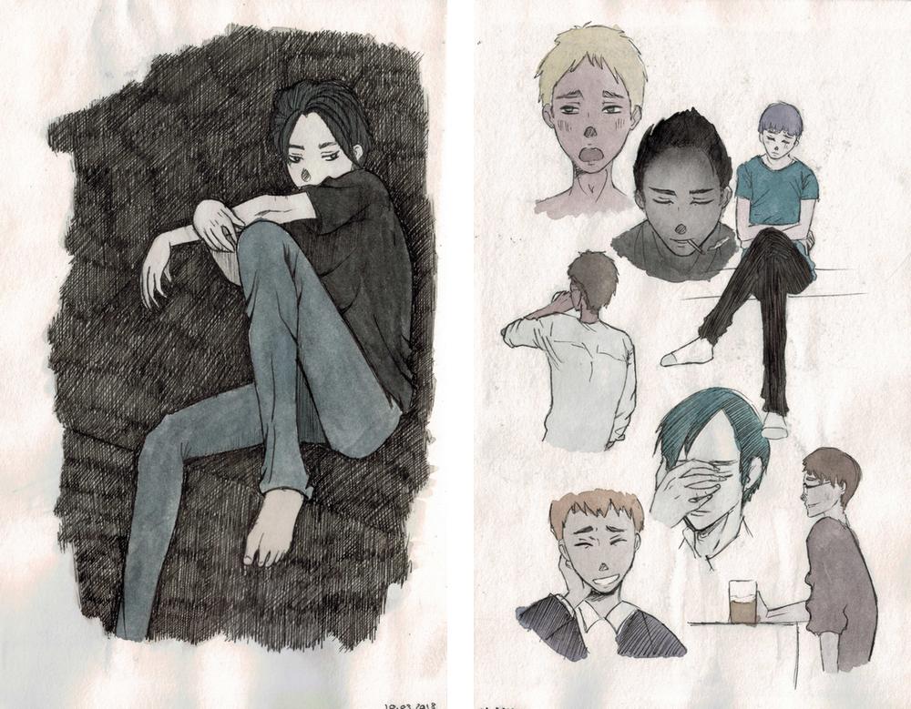 Sketch Book | Mars 2018
