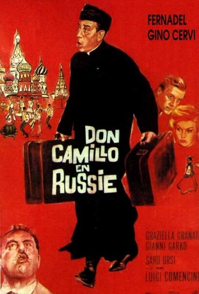 DON CAMILLO EN RUSSIE - BOX OFFICE FERNANDEL 1965