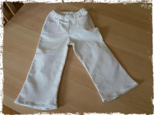 Son premier pantalon pour l'automne !