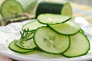 Le concombre, ce légume d'été rafraîchissant