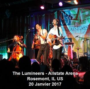 Braderie Rock de printemps - Jour 6 : The Lumineers - Rosemont - 20 janvier 2007