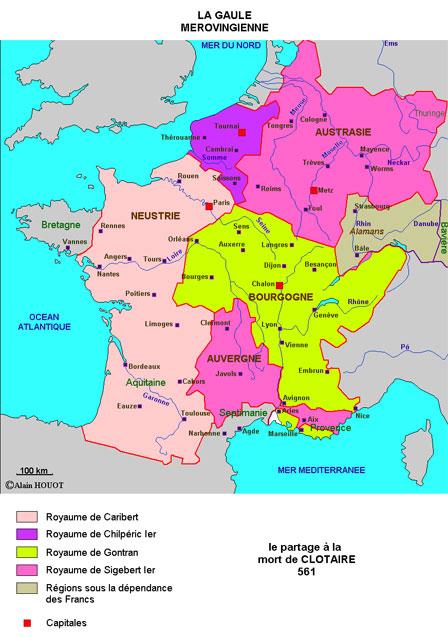 Histoire Ancienne 2:  Clovis et les Mérovingiens - Une civilisation plus lumineuse qu'on ne croit