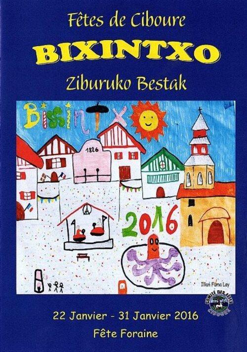 CIBOURE : les fêtes de la Bixintxo 2016