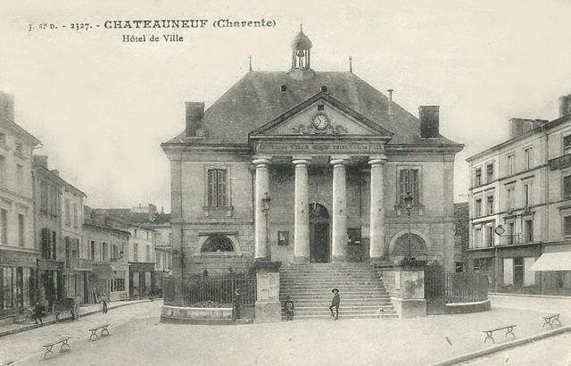 Blog de sylviebernard-art-bouteville : sylviebernard-art-bouteville, Châteauneuf-sur-Charente - CARTES POSTALES