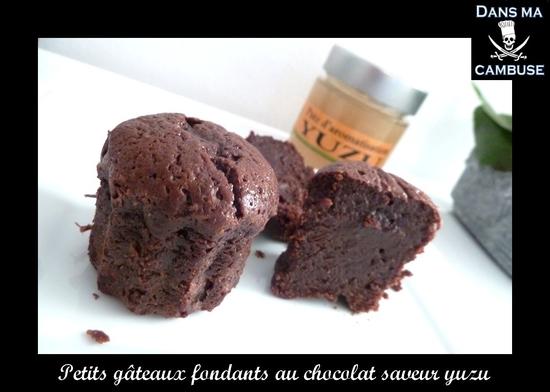 gâteaux chocolat yuzu