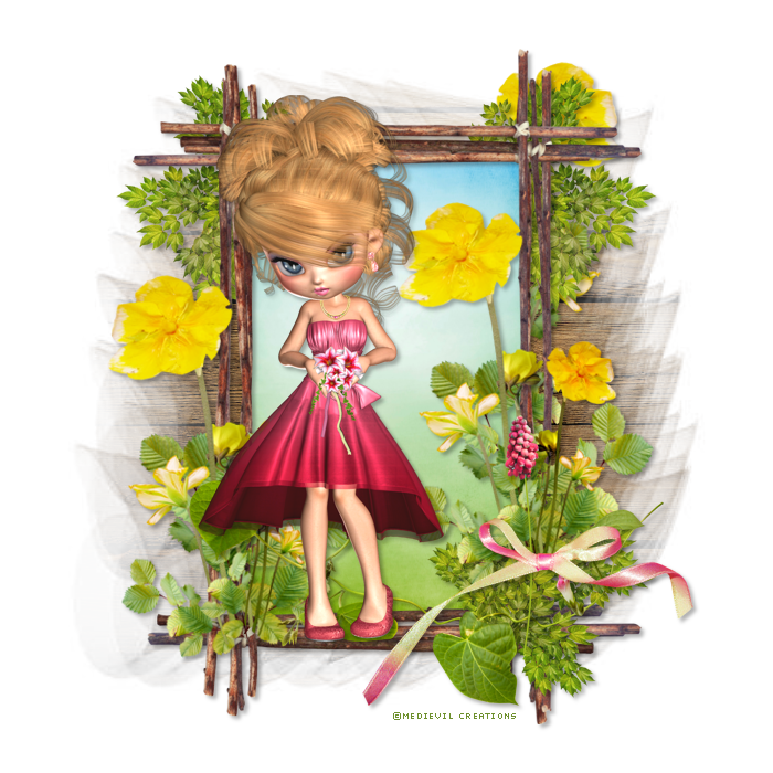 "Tutoriel ""Spring Friends"" de Deepsdesignz"