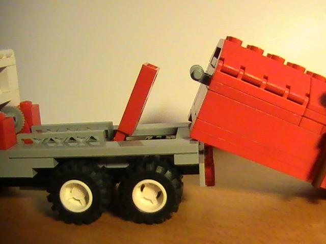 Légo city n° 6668 de 1992 - Recycle truck.