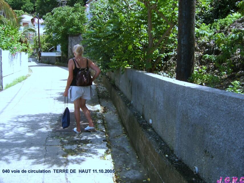 VACANCES GUADELOUPE  3/16  TERRE DE HAUT  10 - 17/10/2005  D  10/03/2015