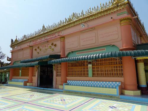 la pagode Soon U Ponnya Shin à Saraing; suite de la visite;