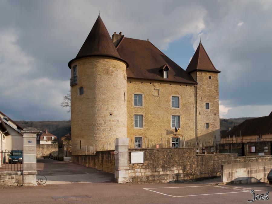 Château Pécauld, Arbois, Jura.