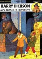 Harry Dickson, Les 3 cercles de l'épouvante, Zanon (dessin) et Vanderhaeghe (Scénario)