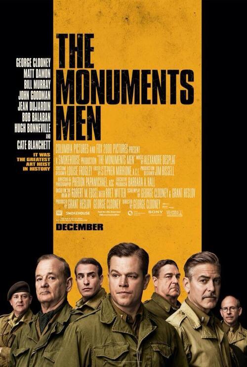 """Bonsoir à l'honneur : """" The Monuments Men """""""