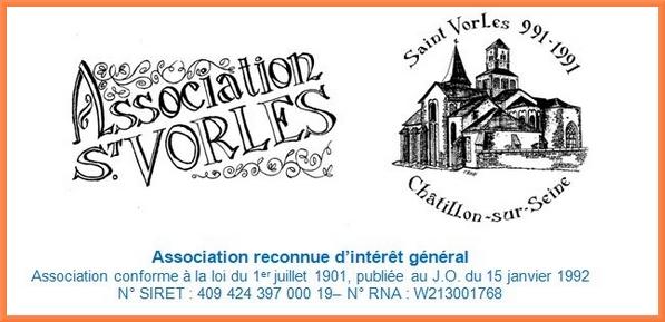 Bientôt aura lieu l'assemblée générale 2019 de l'Association Saint-Vorles...
